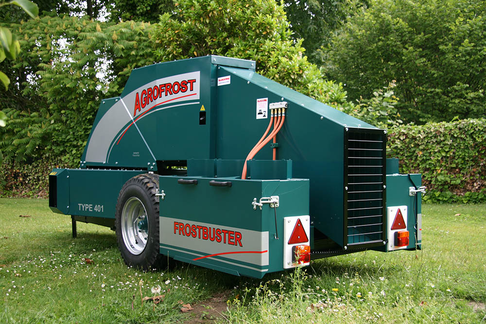 Agrofrost FrostGuard Frost Protection Machine, USA, Texas, New Mexico, Arizona, Mexico, Oklahoma